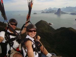 paragliding brazil